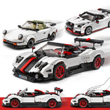 13103 DIY Puzzle Assembled Car Building Blocks 1024PCS MULTI-A RC Cars