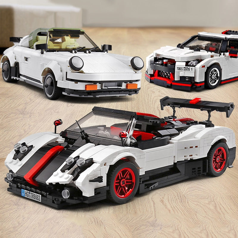 13103 DIY Puzzle Assembled Car Building Blocks