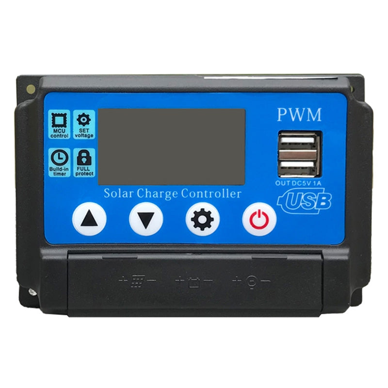 YC-002 Solar Charge Controller PWM 12 / 24V OCEAN BLUE 10A Other Electrical Tools