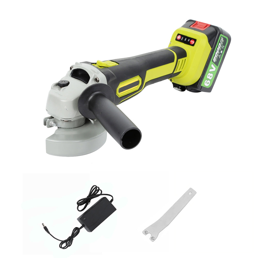 68V Cordless Angle Grinder with Storage Box MULTI WITH ONE BATTERY Power Tools