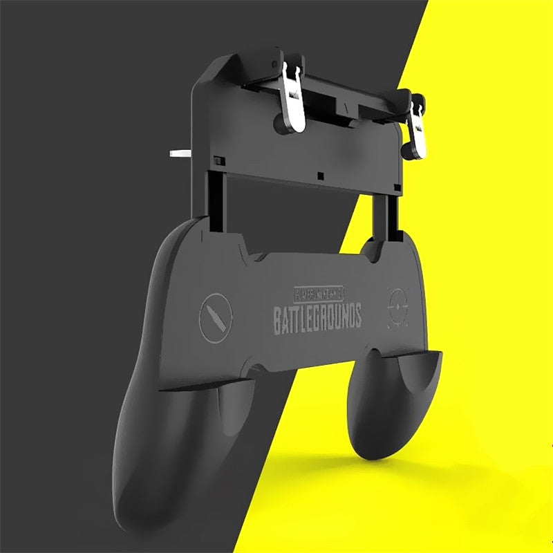 Mobile Game Controller Cellphone Fire Button Trigger Gaming Grip with Joystick
