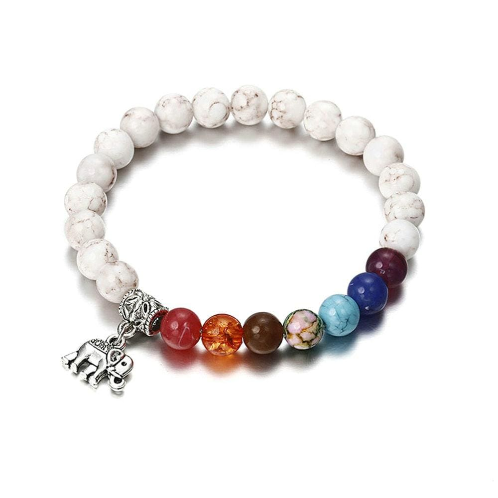 7 Chakra Bracelet Men Black Lava Healing Balance Beads Buddha Prayer Natural Stone Yoga Bracelet Women