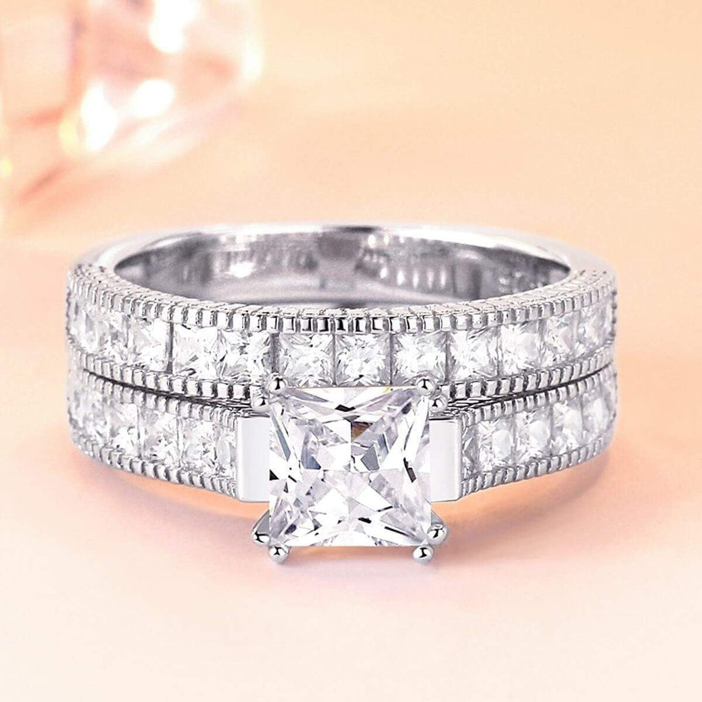 925 Sterling Silver Promise Rings Meaning for Women,Men Ring in Free