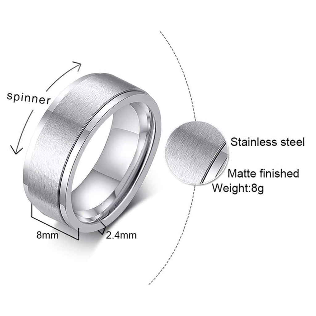 Crystal Promise Rings Women Wedding Party Gifts Silver,Men Ring in Free