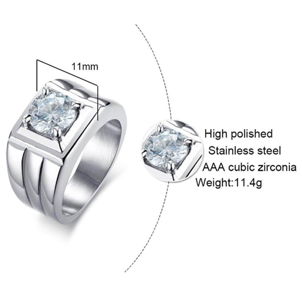 Promise Rings Matching Set for Her Wedding Bands 925 Silver Crytal,Men Ring in Free