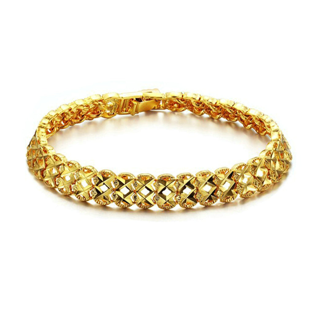 Gold Plated Women Bracelet