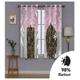 Bedroom Curtains Blackout Drapes 2 Panel Sets