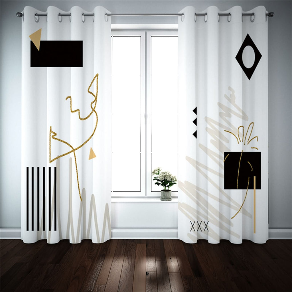Polyester Blackout Curtains For Bedroom