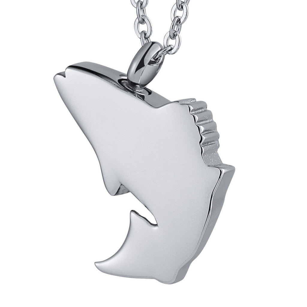 Urn Necklace Cremation Necklace Stainless Steel Engravable 2.5 x 3cm
