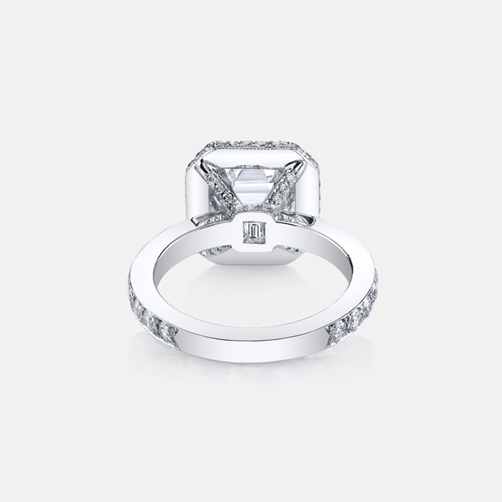 Rings Women Womens Ring Sterling Silver Ring For Women Square Cubic Zirconia Anniversary Rings Silver Ring Size 5
