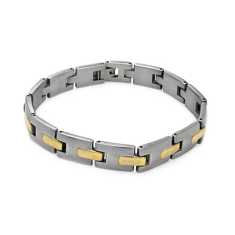 Men's Stainless Steel 316 Link Bracelet  567-ssb00224: