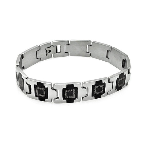 Men's Stainless Steel 316 Celtic Design Bracelet  567-ssb00227: