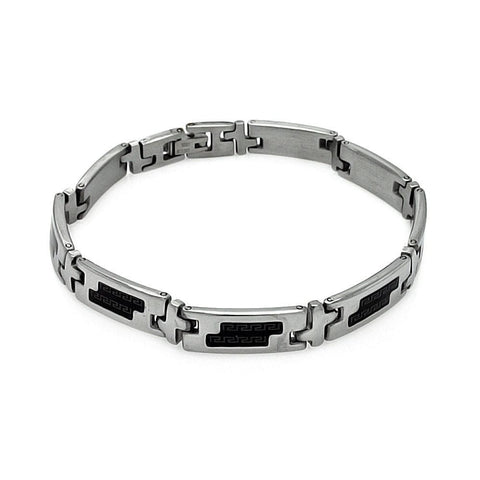 Men's Stainless Steel 316 Celtic Design Bracelet  567-ssb00234: