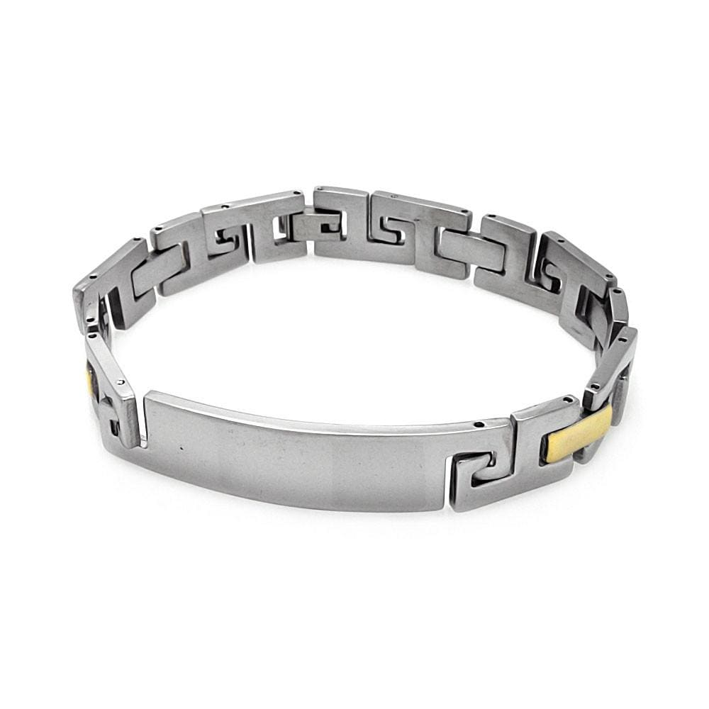 Men's Stainless Steel 316 Link Bracelet  567-ssb00235: