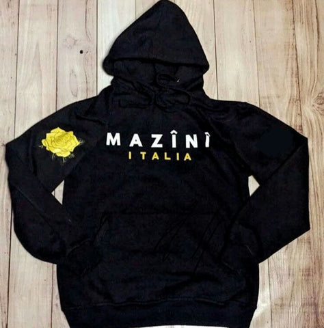 M Â Z Î N Î - Pitch Black Pull Over Hoodie