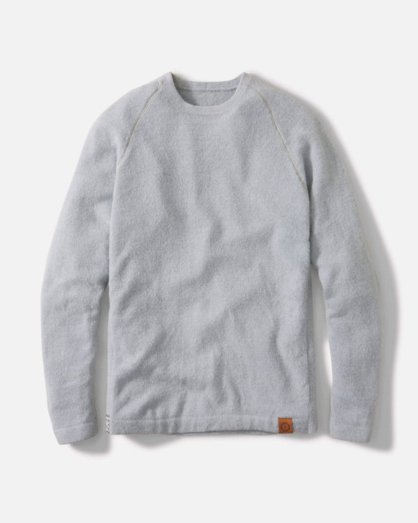 Sky Blue Crewneck Paka Apparel