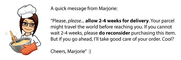 Message from Marjorie