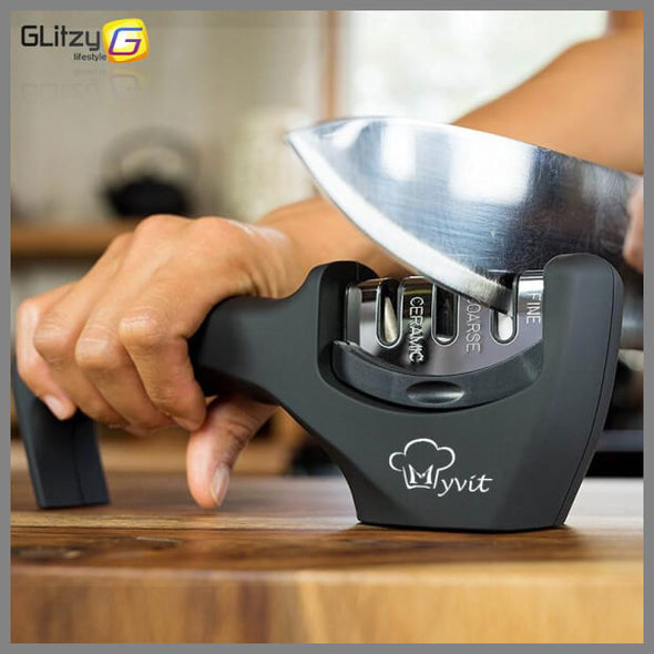 Professional 3-Stage Knife Sharpener