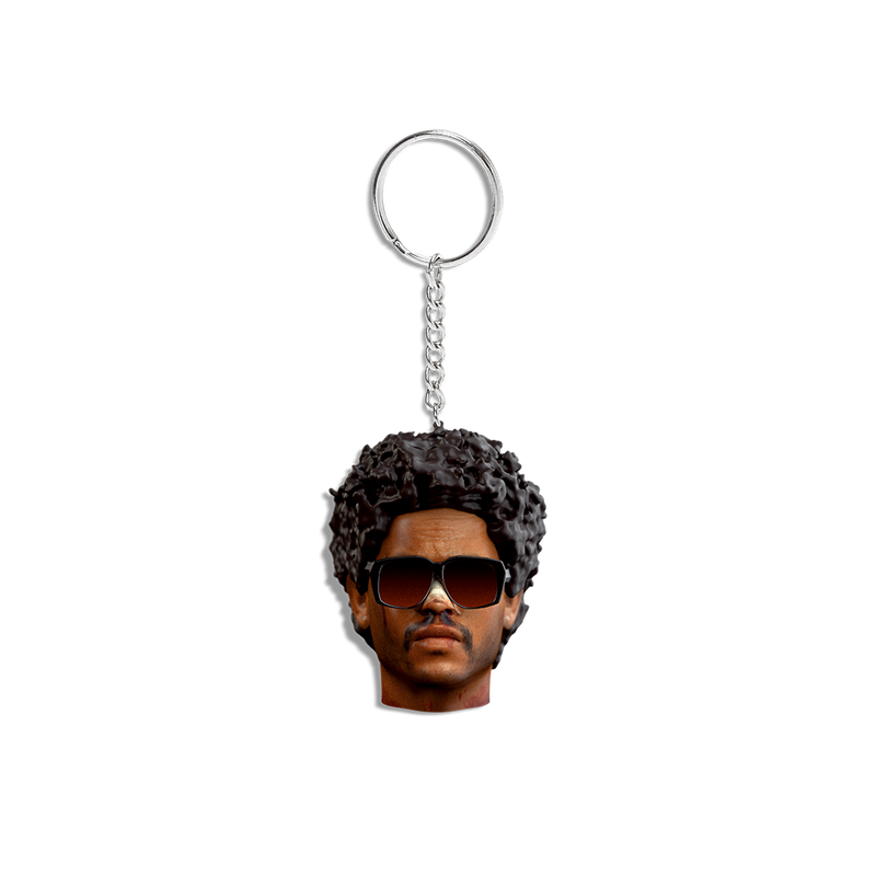 AFTER HOURS 3D SCULPTED KEYCHAIN  + DIGITAL ALBUM