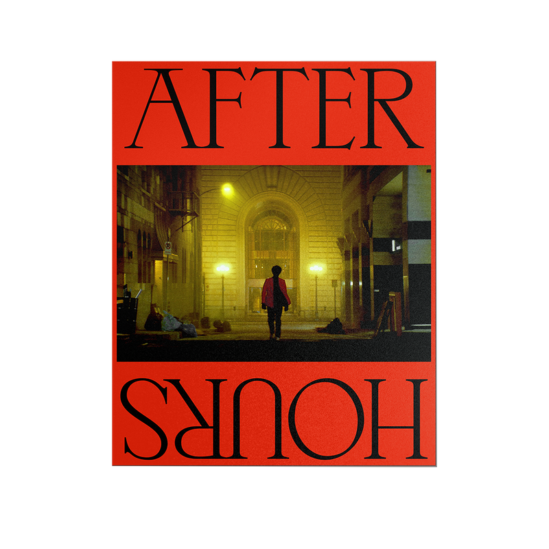 AFTER HOURS POSTER 001 + DIGITAL ALBUM
