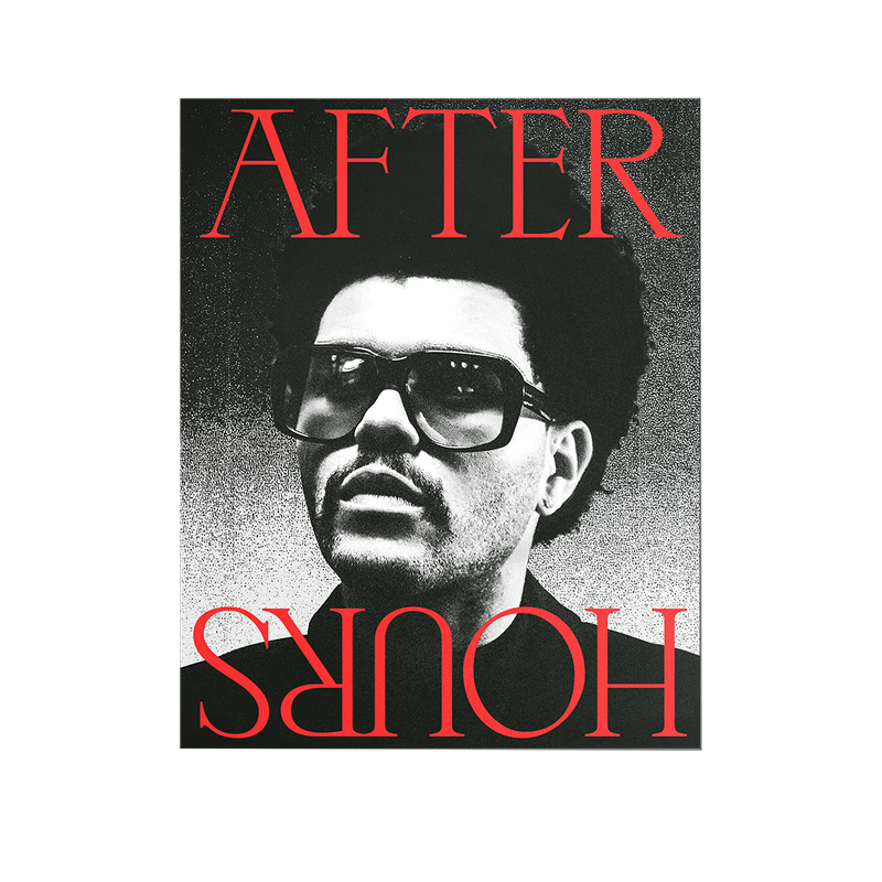 AFTER HOURS POSTER 002 + DIGITAL ALBUM