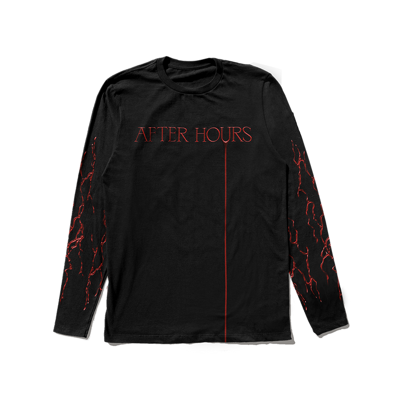 AFTER HOURS BLOODWORK LONGSLEEVE + DIGITAL ALBUM