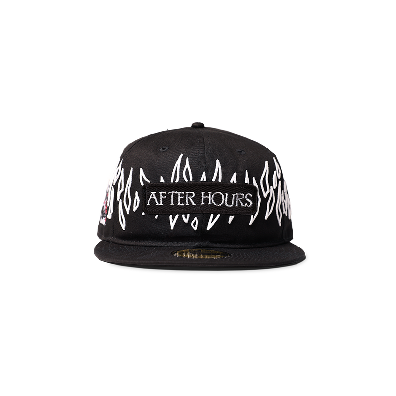 NEW ERA XO AFTER HOURS 59FIFTY FITTED CAP BLACK/WHITE + DIGITAL ALBUM