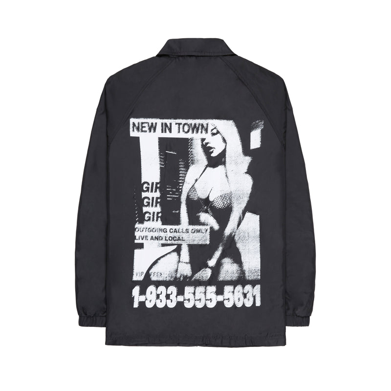 NEW IN TOWN COACH JACKET