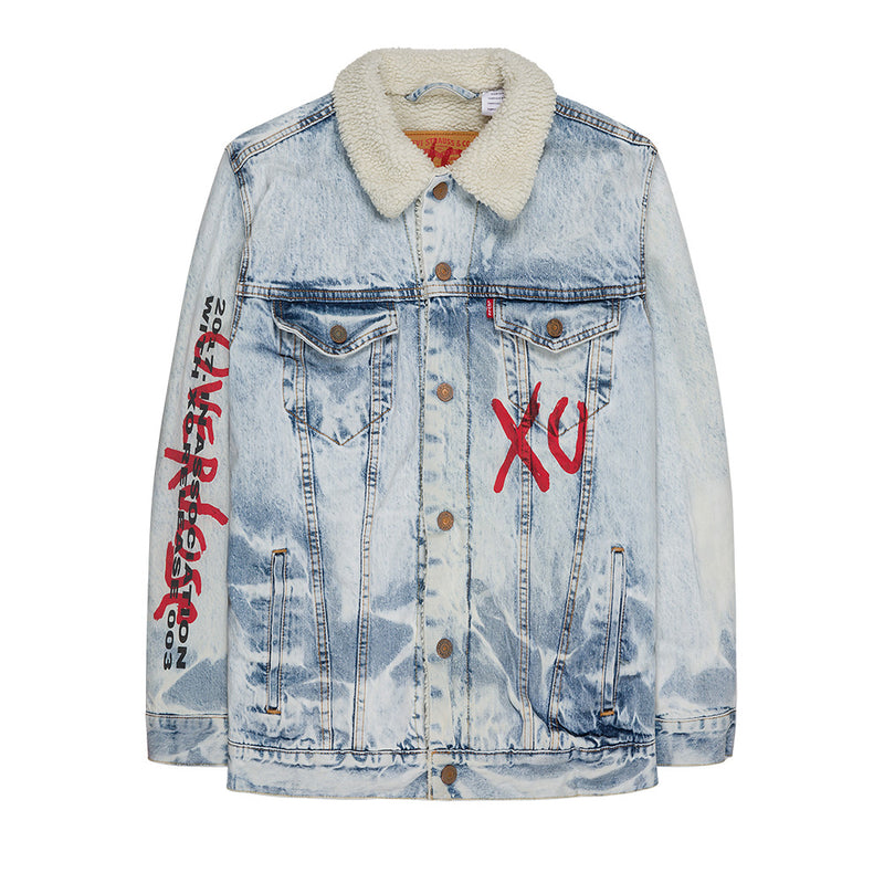 REVERIE DENIM SHERPA JACKET