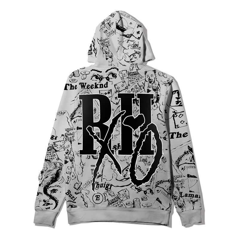 RHUIGI AFTER HOURS DISGUISE PULLOVER HOOD