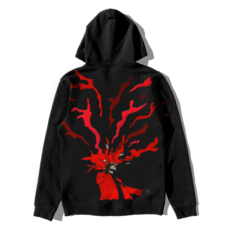 TOO LATE PULLOVER HOOD + DIGITAL ALBUM
