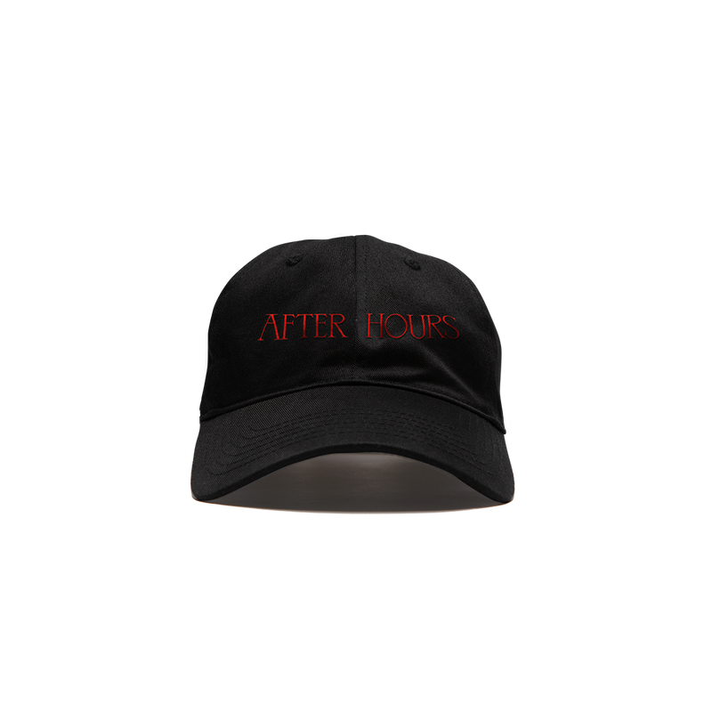AFTER HOURS XO LOGO VELCRO CAP + DIGITAL ALBUM
