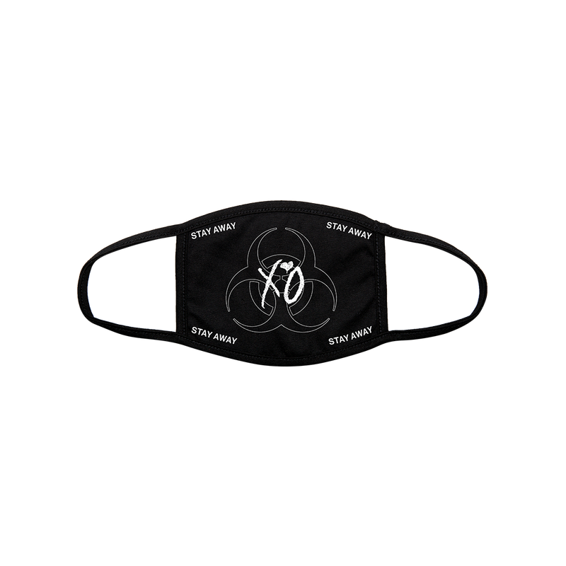 XO QUARANTINE LOGO CLOTH FACE COVERING