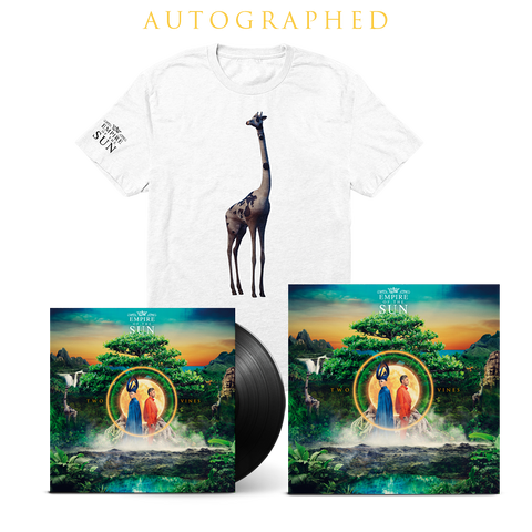 Two Vines LP + T-Shirt + Autographed Lithograph