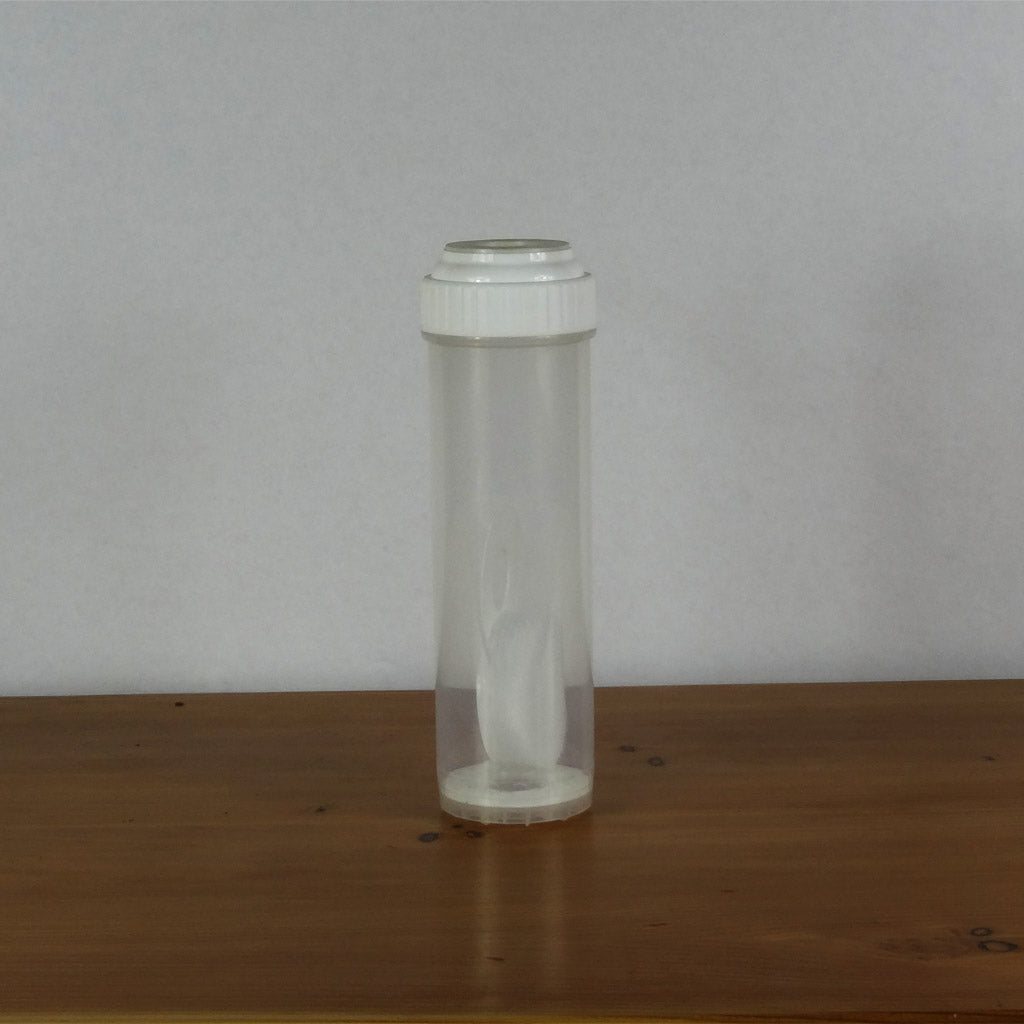 "Empty Refillable Water Filter Cartridge 10""X2.5"""