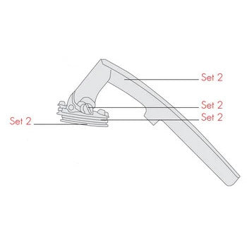 Katadyn Vario Handle Assembly diagram
