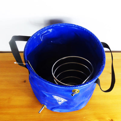 Modified Collapsible Bucket for Vortex Distiller Kit
