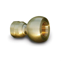 Bernoulli Brushed Brass Power Shower head