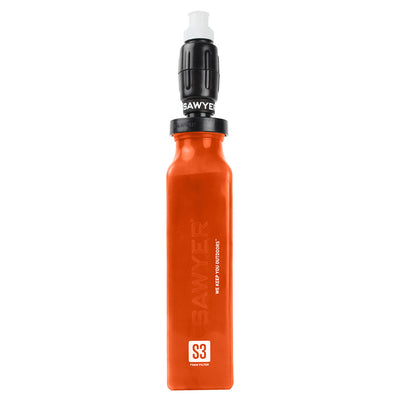 S-3 Sawyer Select Foam Filter Silicone Water Purifier Bottle