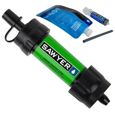 Sawyer Mini Water Filter SP101 Green