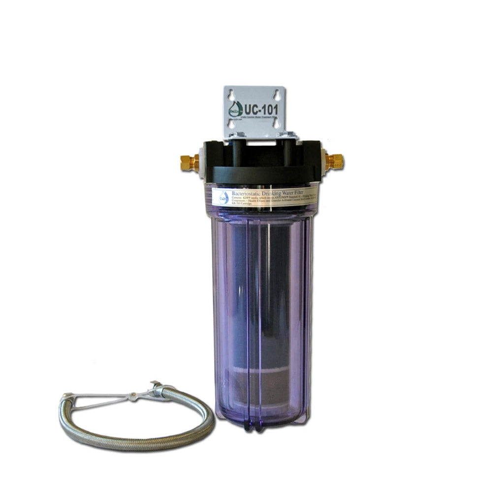 UC-101 with KR-101A by CuZn for Well Water