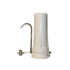"White Plastic Countertop Housing for 10"" Water Filter Cartridges"