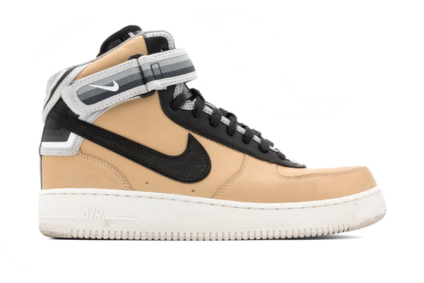 NikeAir Force 1 Mid 'Tisci' - Vachetta Tan/Black (PRE-OWNED)