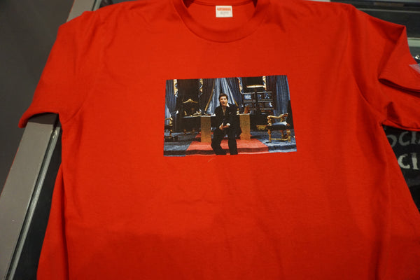 Supreme Scarface Friend Tee Red (Pre Owned)