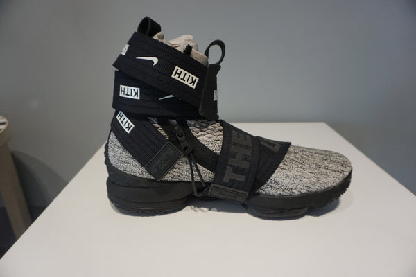 LeBron 15 Lifestyle KITH Concrete(Pre Owned)