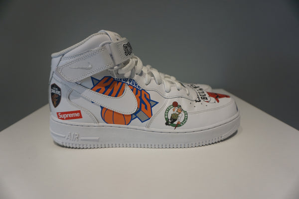 Air Force 1 Mid Supreme NBA White (Pre owned)