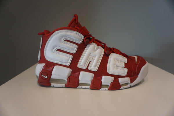 "Air More Uptempo Supreme ""Suptempo"" Red(Pre Owned)"