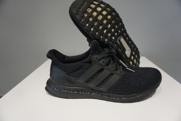 adidas Ultra Boost 3.0 Triple Black (Pre owned)