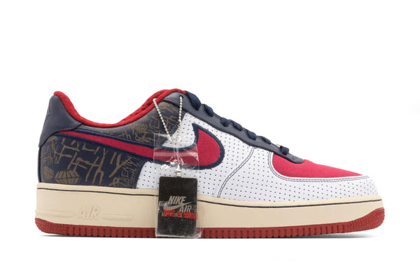 Nike Air Force 1 Premium Low Philly - White/Varsity Red