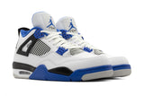 Jordan 4 Retro 'Motorsports' - White/Game Royal